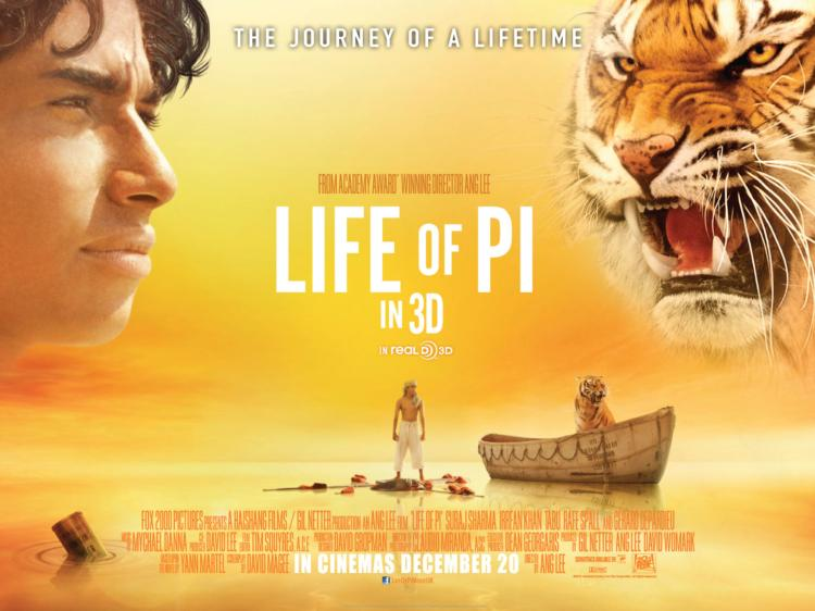 Life of Pi - a story that will make you believe in God